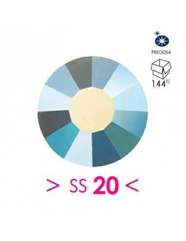 Strass Preciosa Termoadesivo ss 20  Turquoise AB - 144PZ Rhinestones Hotfix