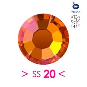 Strass Preciosa Termoadesivo ss 20 Crystal Lava - 144PZ Rhinestones Hotfix