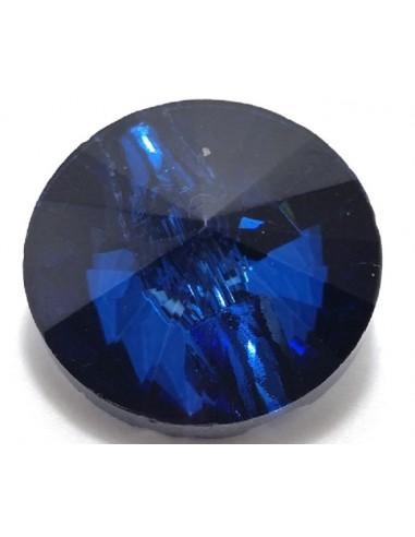 Glass Button mm 20 Montana - 1PC