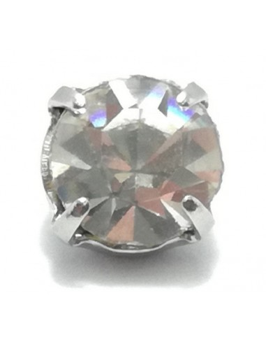Strass Button Solitaire 7 mm...