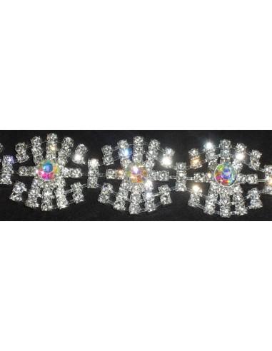 Jewel Strass Chain cm 3,5 Crystal...