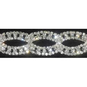 Jewel Strass Chain 2.5 cm...