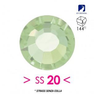 Strass GT Crystal senza colla ss 20  Chrysolite - 144PZ