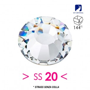 Strass GT Crystal senza colla ss 20  Crystal - 144PZ