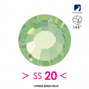 Strass GT Crystal senza colla ss 20 Peridot - 144PZ