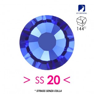 Strass GT Crystal senza colla ss 20 Sapphire - 144PZ