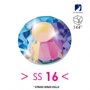 Strass GT Crystal senza colla ss 16 Crystal Aurora Boreale - 144PZ