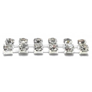 Catena Strass ss 8,5 (mm...