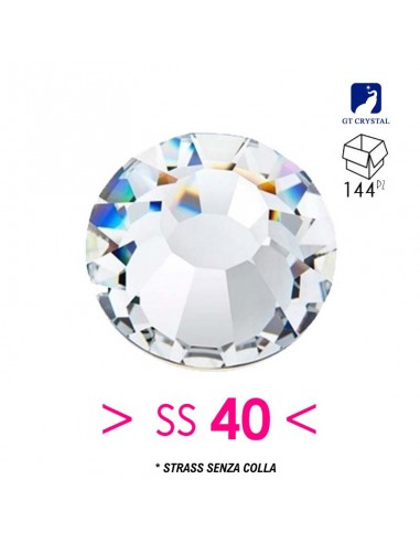 Strass GT Crystal without glue ss 40...