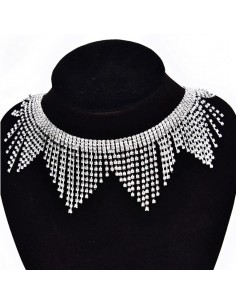 Jewel Strass Fringe Height...