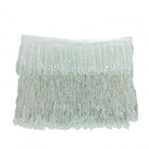 Frange da cucire a Biconi Crystal AB pacco - 1 MT.