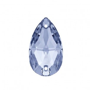 Stone sew on Drop mm 28x17 Light Sapphire