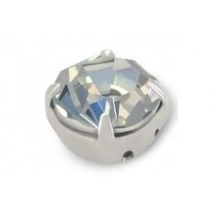 Strass conici incastonati ss 16  Crystal-Silver