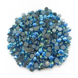 Strass rhinestones Stars Termoadesivi hotfix ss 16 Aquamarine AB - 1440PZ