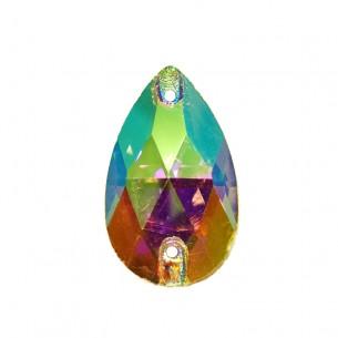 Pietra Goccia Stars mm 28x17 Crystal AB - 1PZ