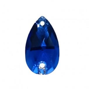 Pietra Goccia Stars mm 18x10,5 Capri Blu - 1PZ