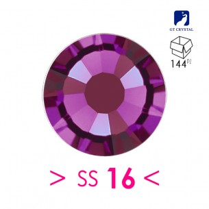 Rhinestones Strass GT Crystal Termoadesivo ss 16 Amethyst - 144PZ Hotfix