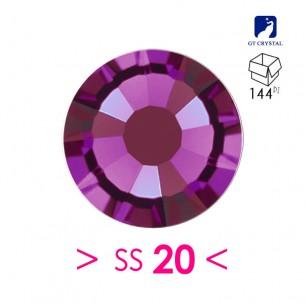 Strass Rhinestones  GT Crystal Termoadesivi Hotfix ss 20 Amethyst
