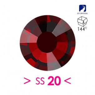 Strass GT Crystal Termoadesivo ss 20  Garmet - 144PZ  Rhinestones Hotfix