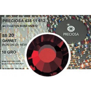 Preciosa Rhinestones Hotfix ss 20 Garnet - 1440 pcs