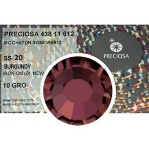 Preciosa Rhinestones Hotfix ss 20 Burgundy - 1440 pcs