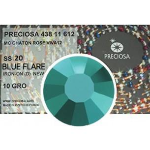 Preciosa Strass Termoadesivi ss 20 Blue Flare - 1440 pz