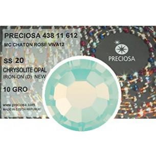 Preciosa Rhinestones Hotfix ss 20 Chrysolyte Opal - 1440 pcs