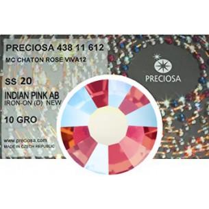 Preciosa Rhinestones Hotfix ss 20 Indian Pink AB - 1440 pcs