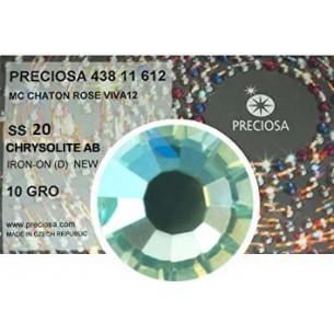 Preciosa Rhinestones Hotfix ss 20 Chrysolite AB - 1440 pcs