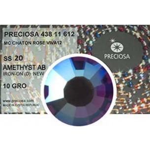 Preciosa Rhinestones Hotfix ss 20 Aquamarine AB - 1440 pcs