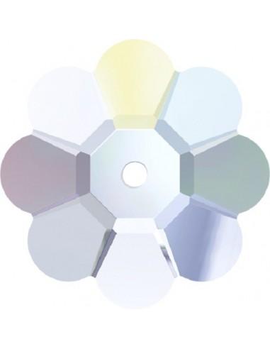 Stone Flower mm 8 Crystal AB - 1PC