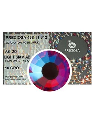 Preciosa Rhinestones Hotfix ss 20 Light Siam AB - 1440 pcs