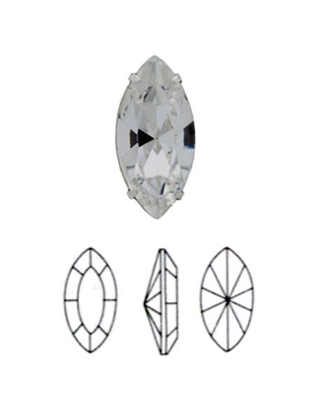 Shuttle (stones with setting)