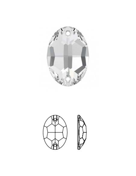 Oval (crystal stones)