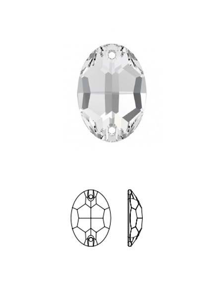 Ovale (pietre in cristallo)