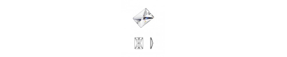 Rectangle (crystal stones)
