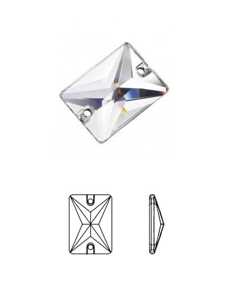 Rettangolo (pietre in cristallo)